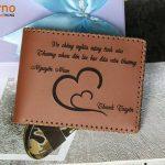 Khắc tên lên ví da – 7 lưu ý khi chọn chỗ khắc – Bài 114