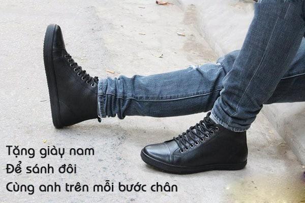 quà tặng cho nam là đôi giày