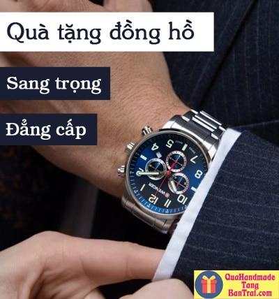 tặng đồng hồ cho nam giới