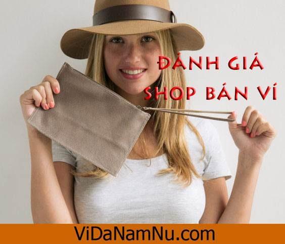 shop bán ví nữ online